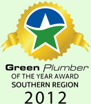 Green Plumber of the Year 2012